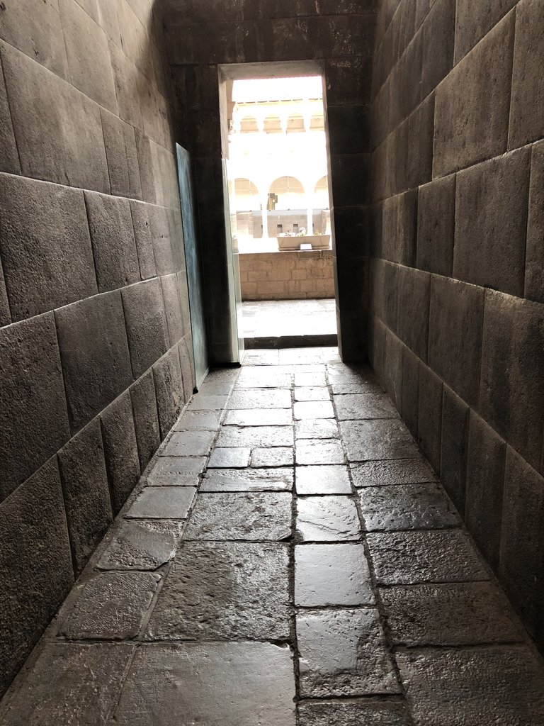 Ancient hallway in the shaman's residence | Photo taken by Susan D
