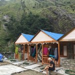 Luxurious huts   Photo taken by Grethe Maagaard H