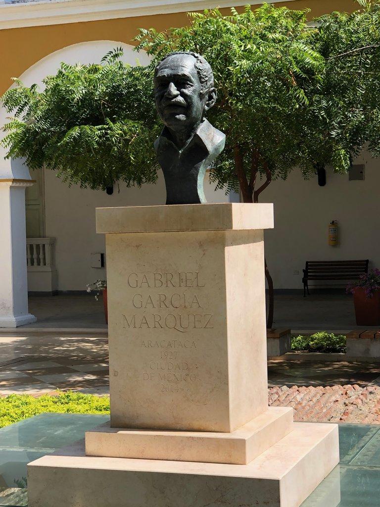 Gabriel Garcia Marquez RIP | Photo taken by Rachel B