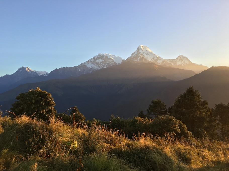 Sunrise from Poon Hill | Photo taken by Federica M