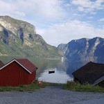 we stayed here - Aurland | Photo taken by mel d