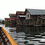 Houses on stilts | Photo taken by Rodney S