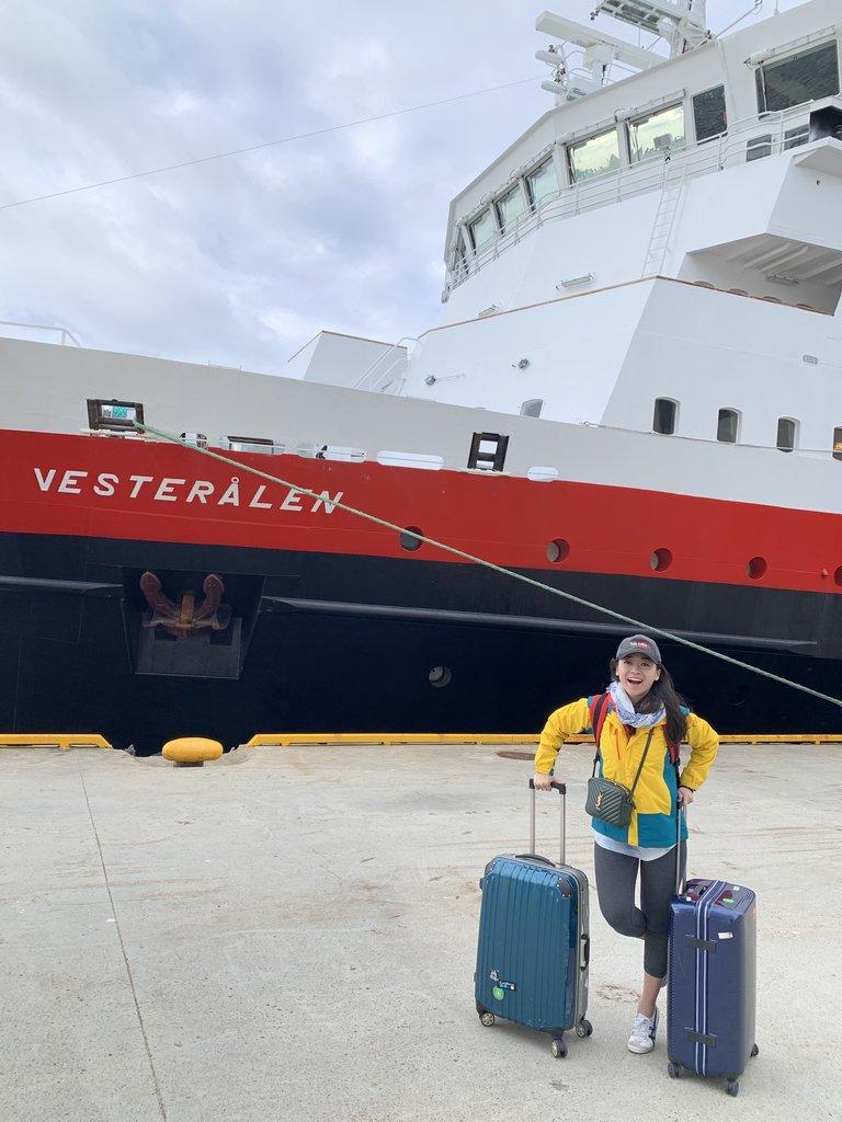 Hurtigruten  | Photo taken by Jessica H