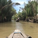 Mekong Delta gondola ridw | Photo taken by Anthony A
