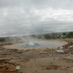 Iceland – Geyser – dome forming | Photo taken by nick R