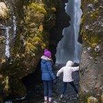entering Gljufrafoss | Photo taken by Grace Lessing