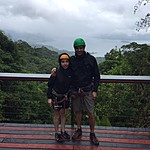 Pre zip lining | Photo taken by Raj V