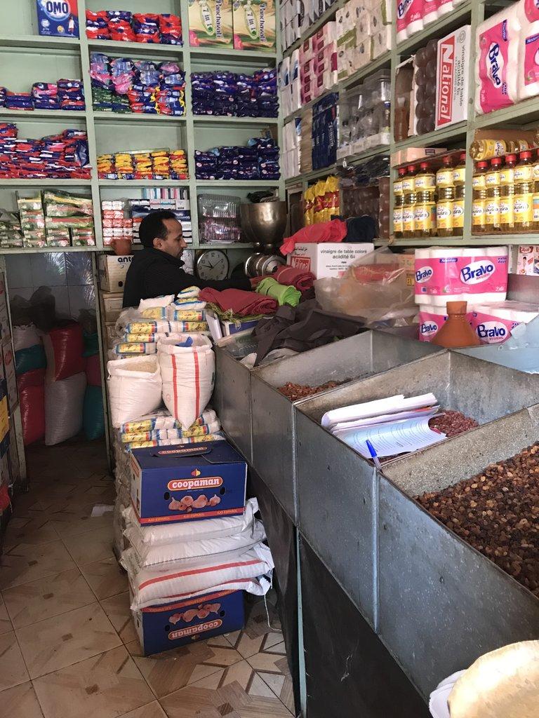 Buying ingredients | Photo taken by Chris M