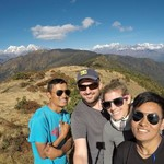 Our trekking team | Photo taken by Max F