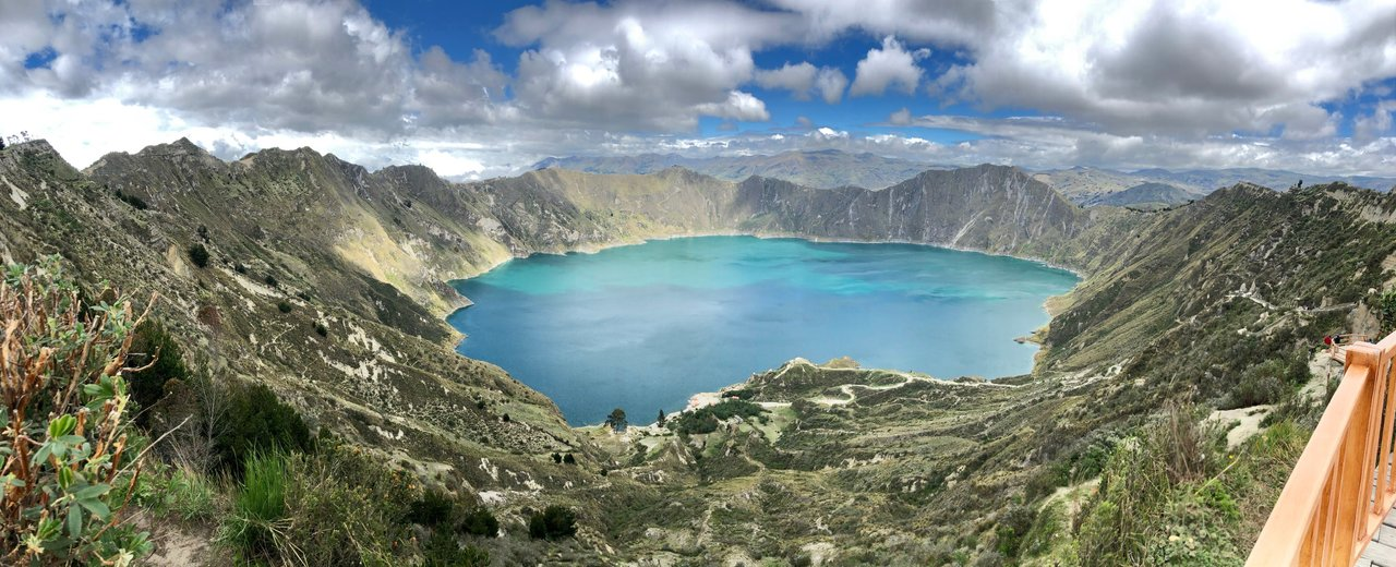 Lake Quilotoa | Photo taken by Marsha S