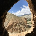 View from caves in Chossar Valley | Photo taken by Lisa D