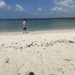 Tortuga Bay on our free day!  | Photo taken by Mylinda D
