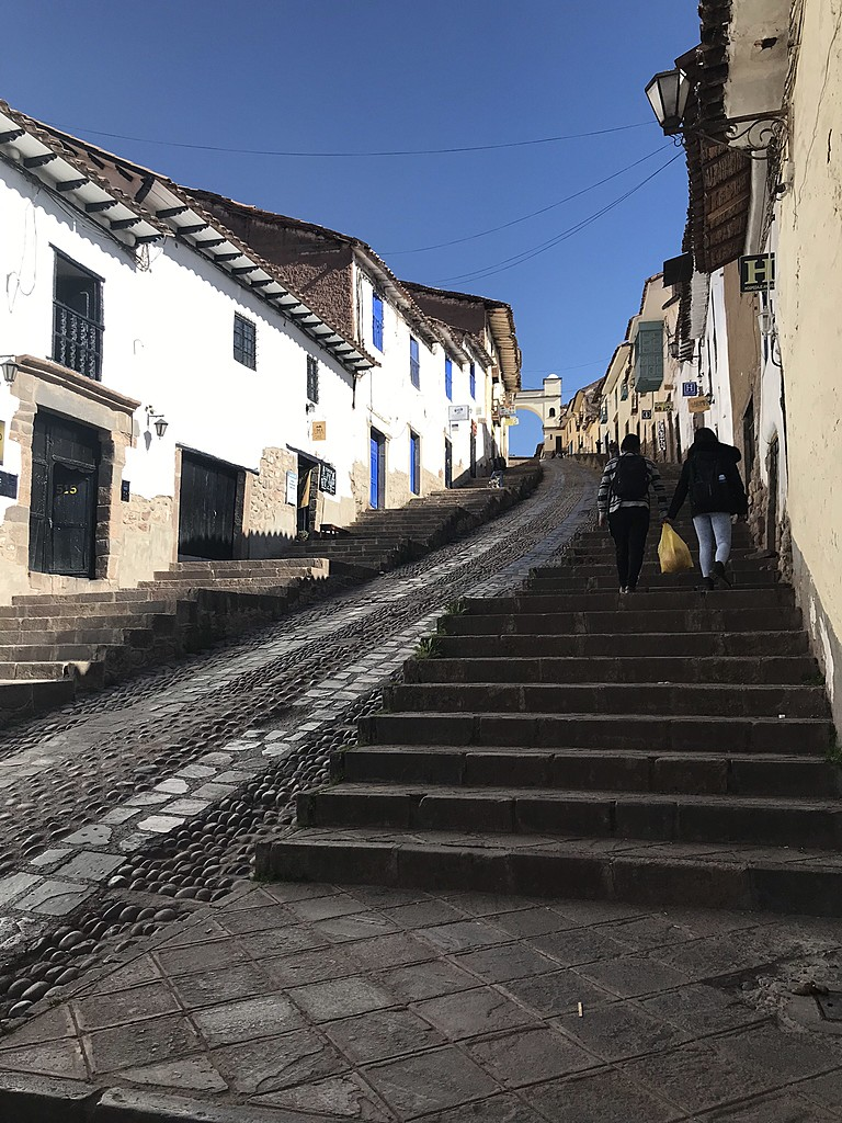 Stairway to Cusco overlook | Photo taken by Marianne H