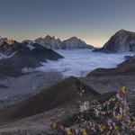 sunset-Kala-Patthar | Photo taken by Lidia D