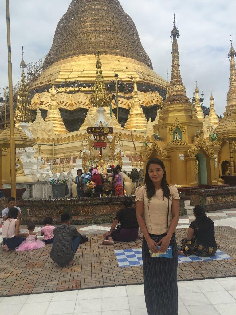 Shwedagon Pagoda.  | Photo taken by Rachael W
