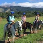 Horseback Riding in Rincon de La Vieja National Park | Photo taken by Rachel H