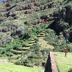 View from Pisac trail | Photo taken by Charles M