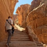 Exploring Petra | Photo taken by Valerie M