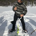 ice fishing in Alta | Photo taken by Timothy H