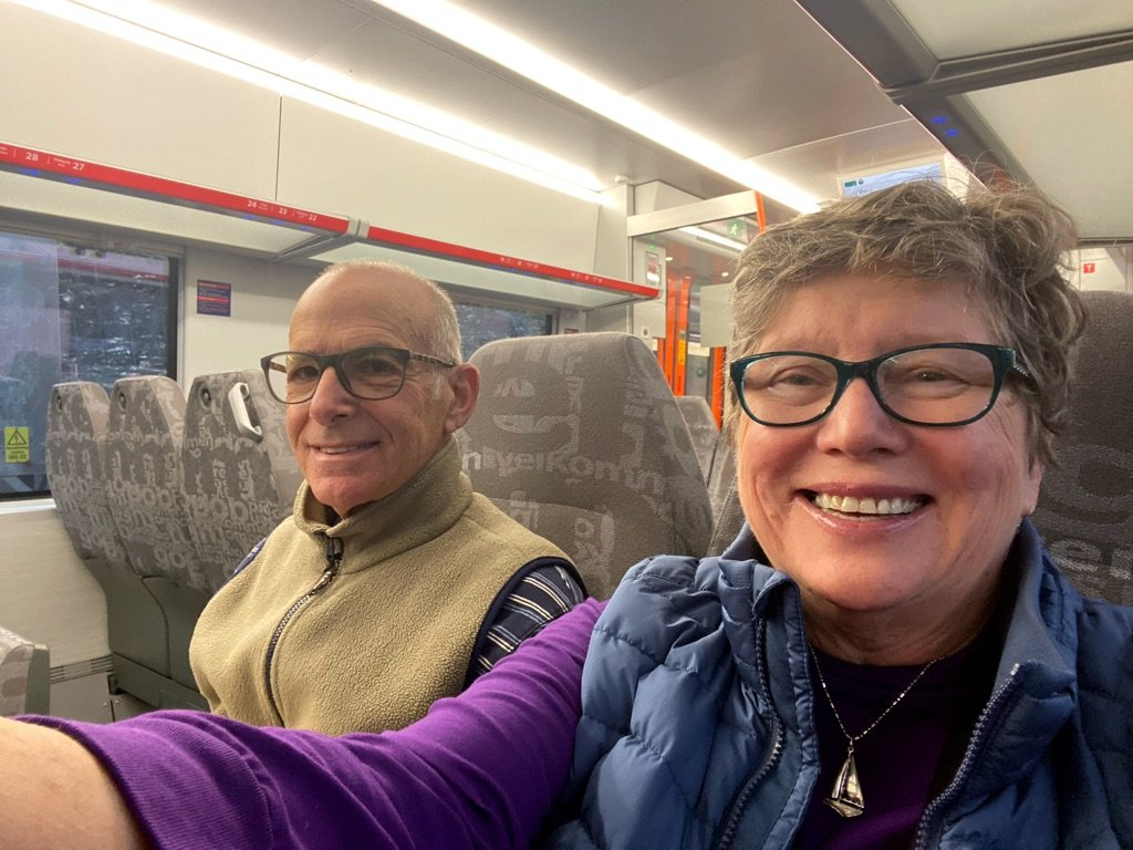 Train to Bergen - really nice | Photo taken by Robin W