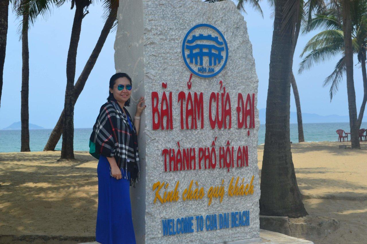 Cua Dai Beach  | Photo taken by Seng Aung S