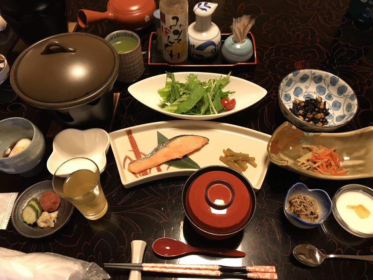 Dinner! | Photo taken by Pui san C