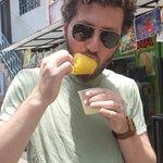 Mango paleta | Photo taken by Rebecca H