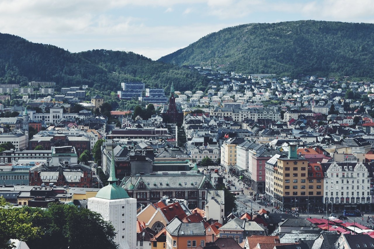 Bergen View | Photo taken by Michael W