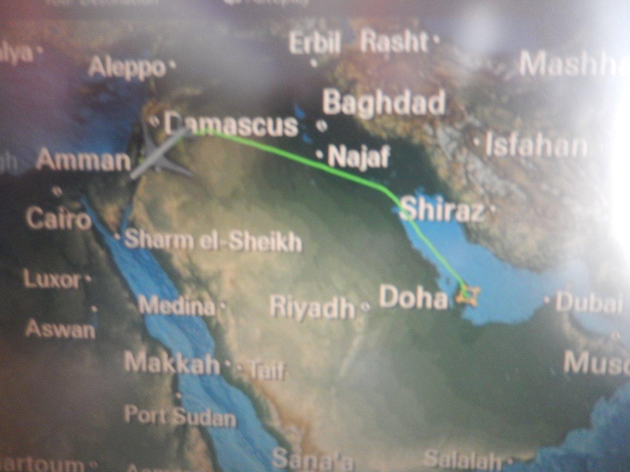 Avoiding Saudi Arabia..... | Photo taken by Linley V