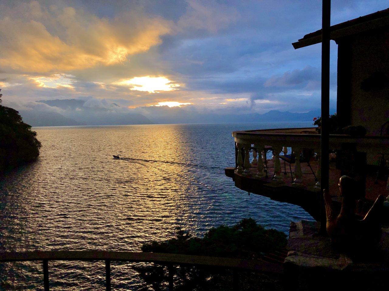 Sunrise on Atitlan | Photo taken by BRAD K
