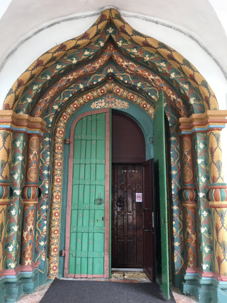 Church door, Suzdal | Photo taken by Diane P