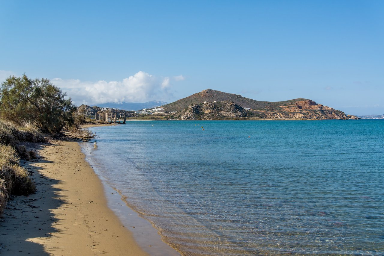 St. Georges Beach on Naxos | Photo taken by David B