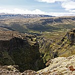 Glymur Valley | Photo taken by Kim C