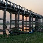 U Bein bridge | Photo taken by Liz S