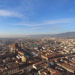 View from Duomo in Florence | Photo taken by Kristin M