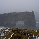 Dyrholaey Arch | Photo taken by Grace L