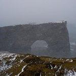 Dyrholaey Arch | Photo taken by Grace Lessing
