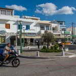Downtown Naxos at midday | Photo taken by David B