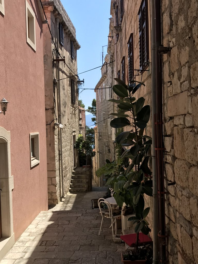 Korcula Old Town | Photo taken by Rosemary L