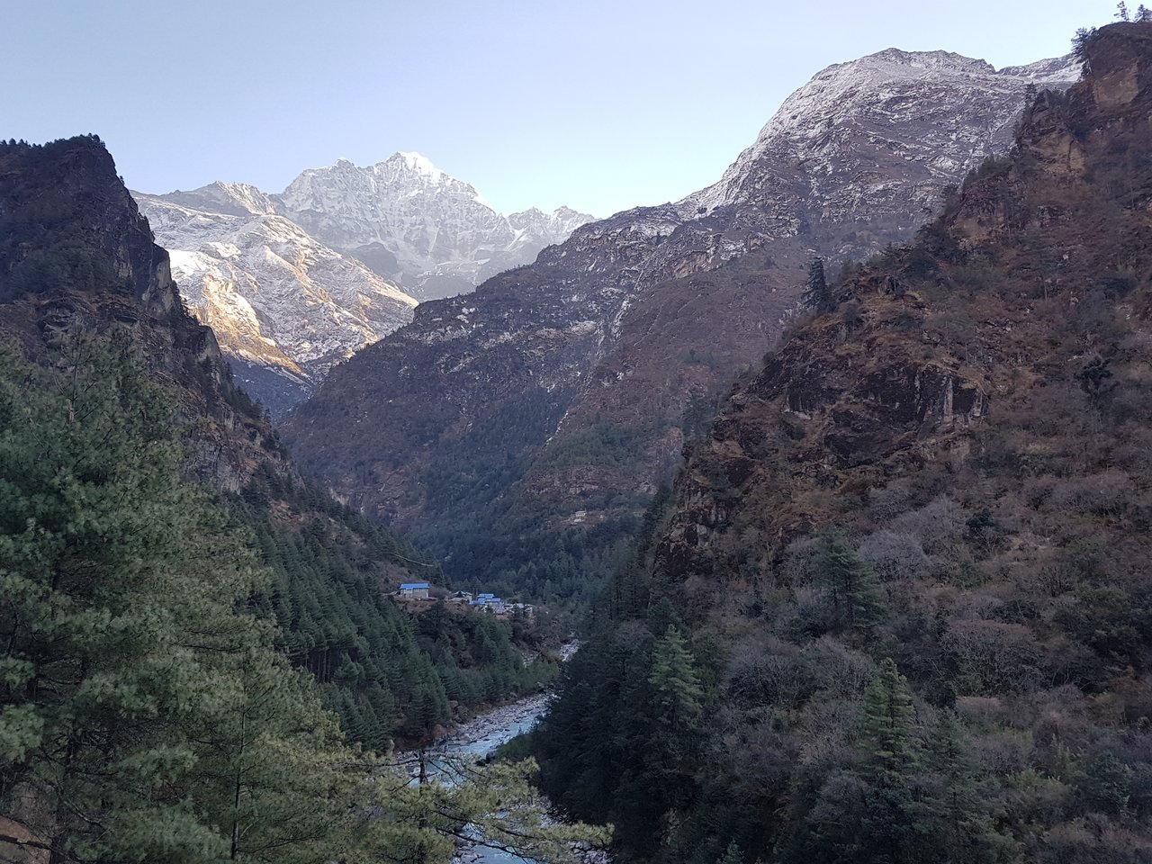 Way to Namche | Photo taken by Katarina W