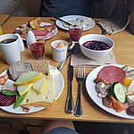Morning Norwegian Breakfast | Photo taken by Mark M