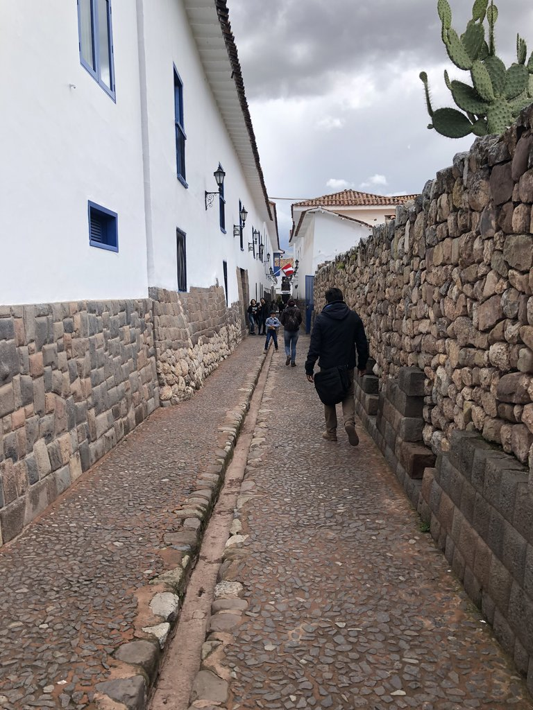 Old Inca street in Cuzco | Photo taken by Susan D