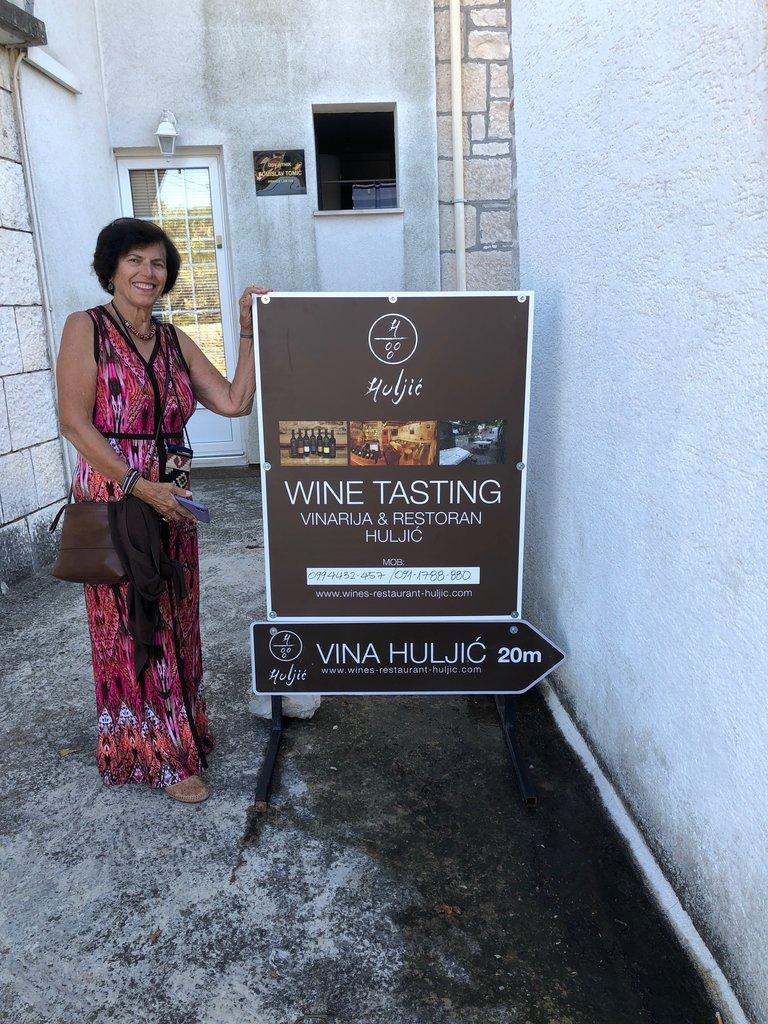 Visit to Huljic Winery | Photo taken by Eva W