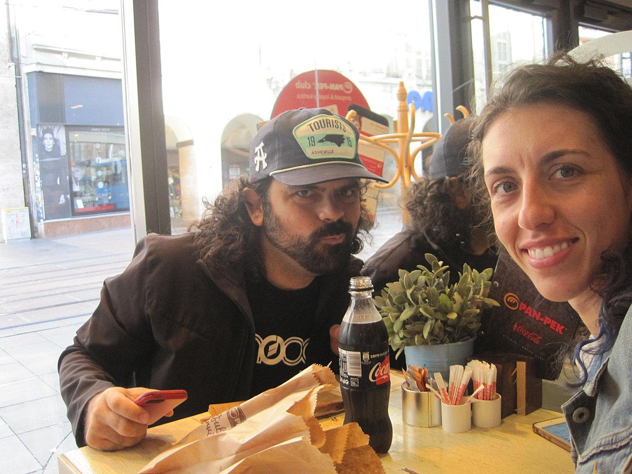 First Kuna spent on breakfast | Photo taken by Stephanie F