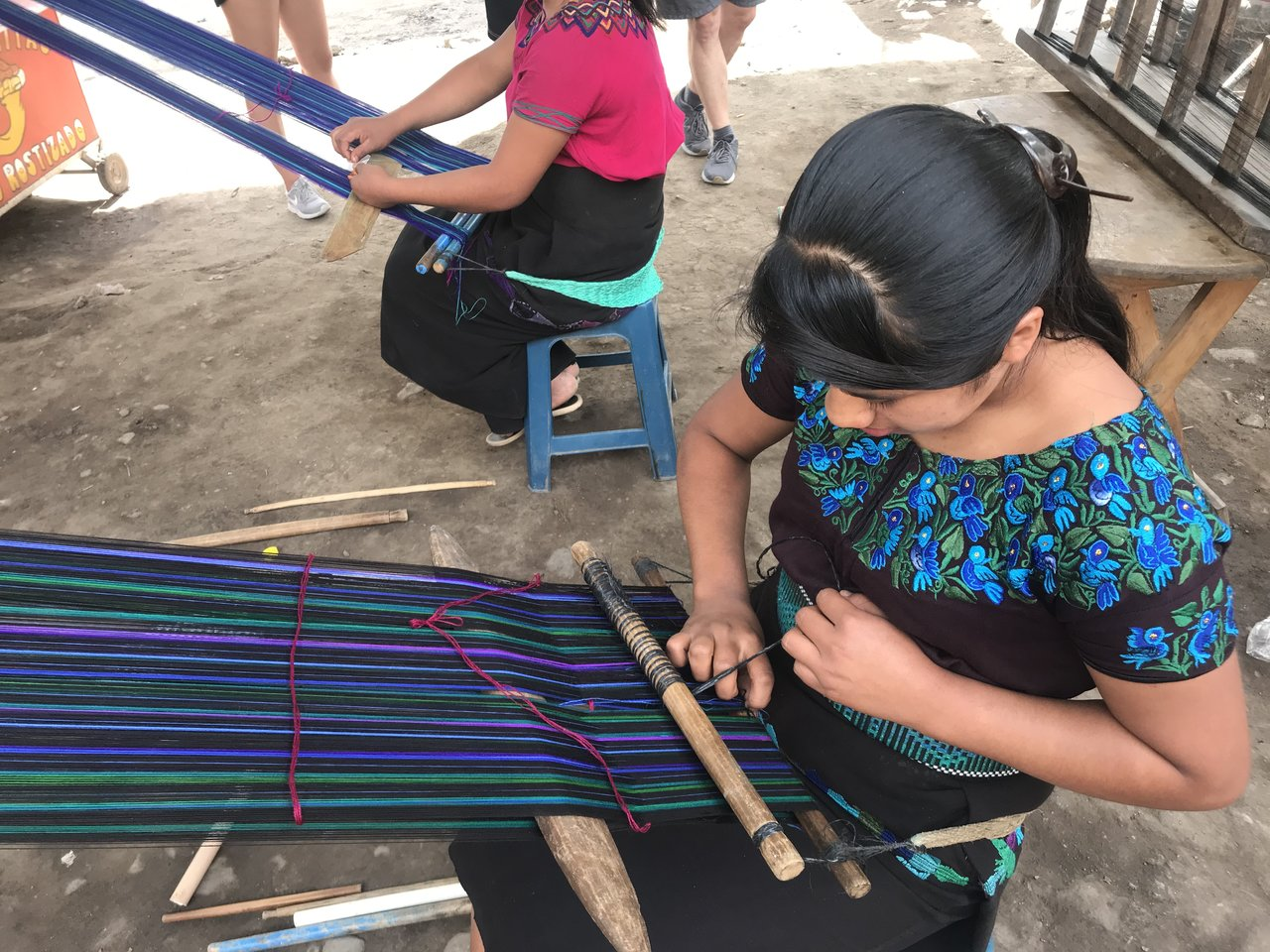 Weaving in town  | Photo taken by BRAD K