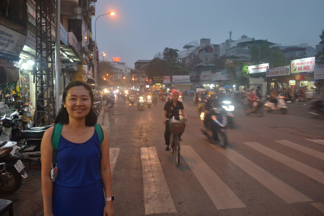 Ha Noi Street  | Photo taken by Seng Aung S