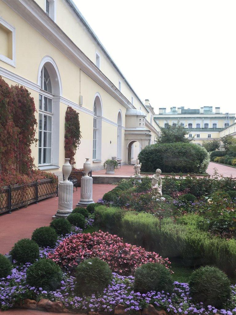 Roof garden, Hermitage | Photo taken by Diane P
