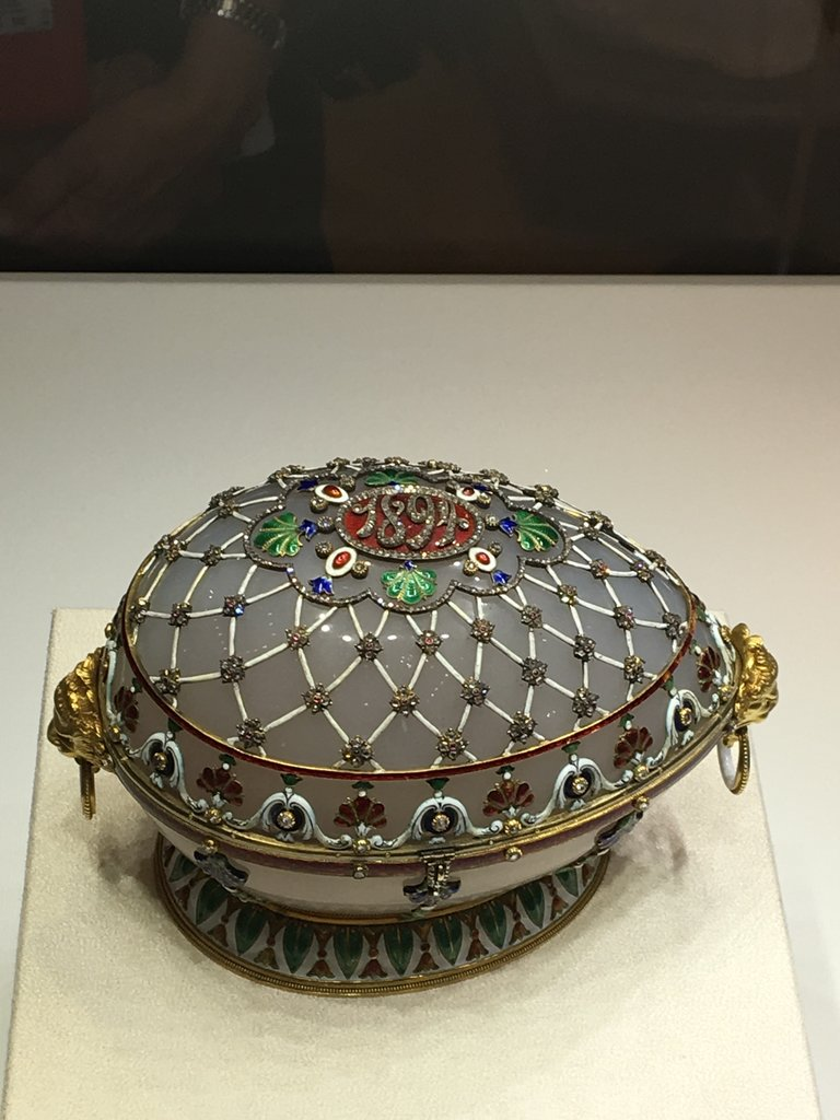 Fabulous Faberge eggs | Photo taken by Diane P