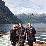 Cruiseing the Geiranger Fjord | Photo taken by Mark M