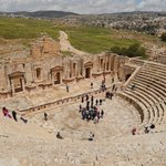 The magnificent South Theatre, Jerash | Photo taken by Linley V